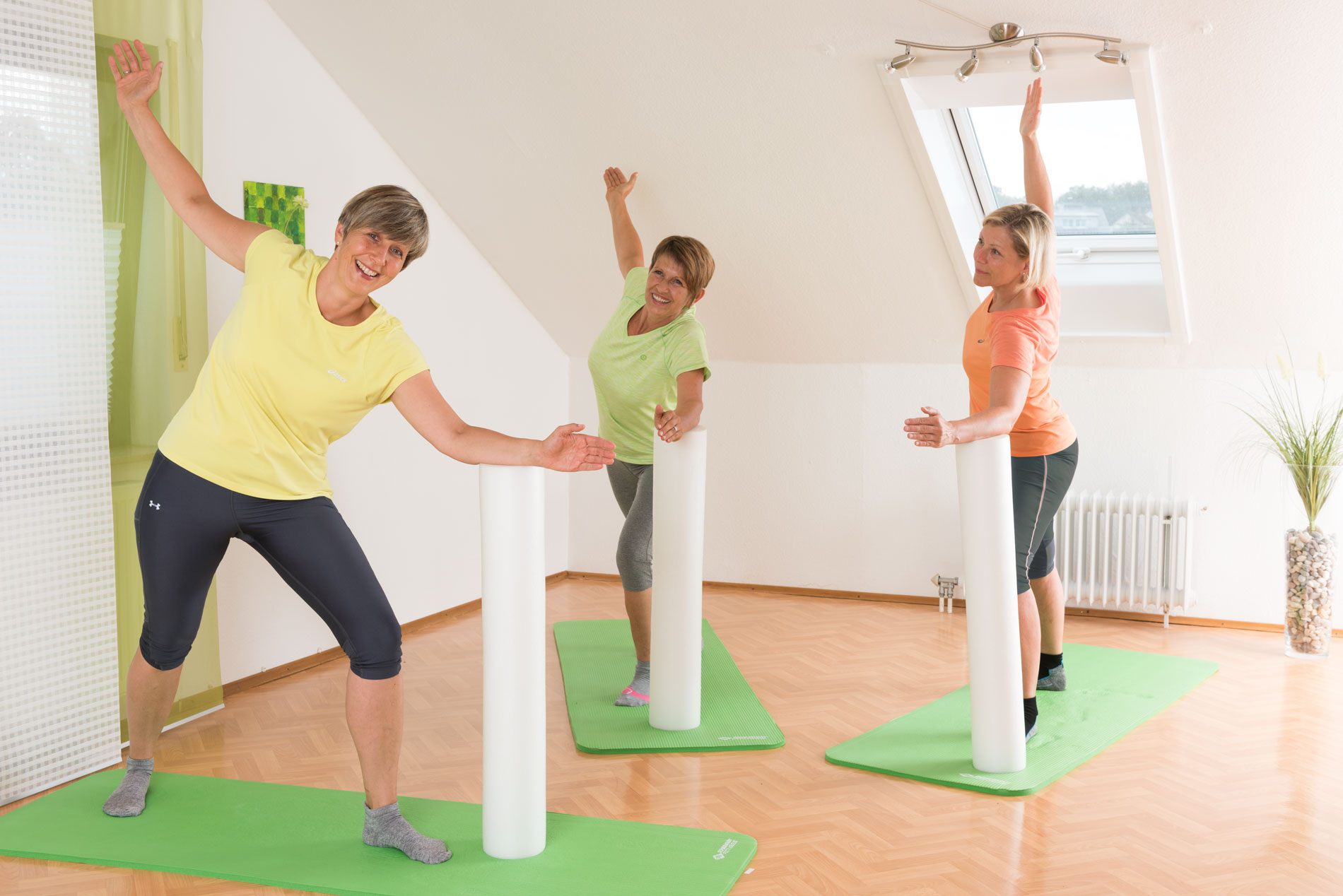 Bewegungsangebote Faszien-Fitness-Gruppe
